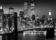 NEW YORK brooklyn bridge night